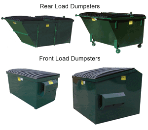 Front & Rear Load Waste and Recycling Containers